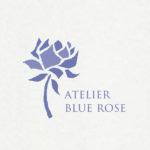 紙バンド教室 ATELIER BLUE ROSEさんロゴ