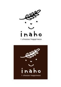 パン屋のinahoさんロゴ